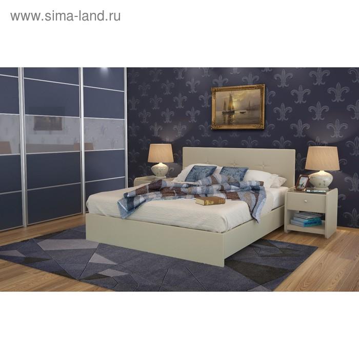Кровать Askona Isabella 200 х 160 кожзам Экотекс 109