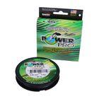 Леска плетёная Power Pro, 92 м, 0,06/3кг, цвет зелёный