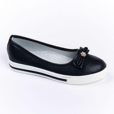 Туфли детские Микаса арт. M58-3-1 (черный) (р. 33)