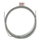 Трос стальной для растяжки DIN 3055, 3 мм, в упаковке 5 м