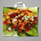 """Пакет """"Шикарный букет"""", полиэтиленовый с петлевой ручкой, 42 х 44 см, 70 мкм - фото 308292075"""
