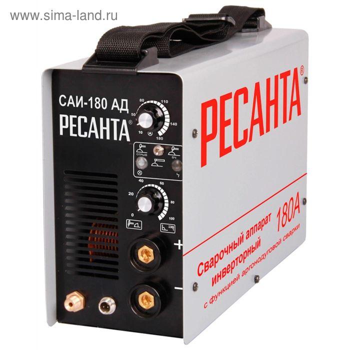 Аргоновый инвертор Ресанта САИ 180 АД, 220В, 5.3 кВт, 180 А