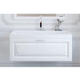 Комплект мебели Aqwella EMPIRE 100 подвесной, тумба с раковиной Infinity 1000, белый