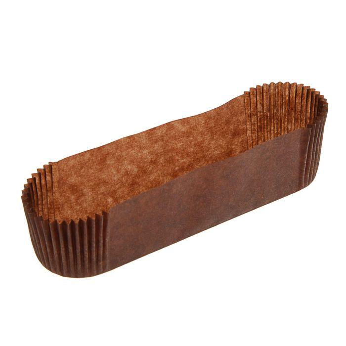 Тарталетка, форма овал, коричневая 11 х 2,8 х 2,6 см