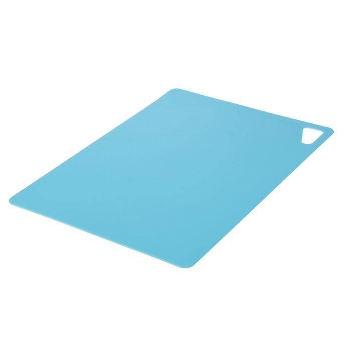 Доска разделочная гибкая 34х24 см, толщина 2 мм, цвет МИКС