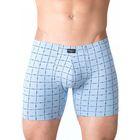 Трусы мужские облегающие PMH-718 цвет серо-голубой, р-р 48