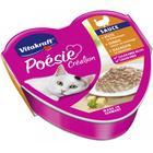 Влажный корм POESIE для кошек, индейка в сырном соусе, ламистер, 85 г