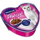 Влажный корм POESIE для кошек, сайра/паста/томат в соусе, ламистер, 85 г