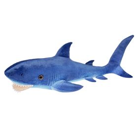 Мягкая игрушка «Акула», цвет синий