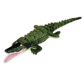 Мягкая игрушка «Крокодил», цвет зелёный