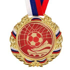 Медаль призовая 006 'Футбол', диам 7 см Ош
