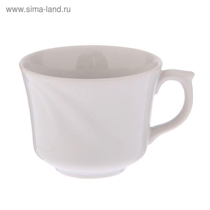 """Чашка кофейная 130 мл """"Фантазия"""", белая"""