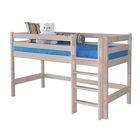 Низкая кровать Соня с прямой лестницей Вариант 11