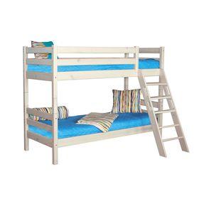 Двухъярусная кровать Соня с наклонной лестницей Вариант 10