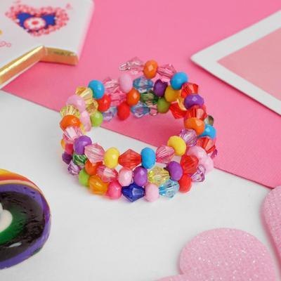 "Bracelet spring baby ""Vibracula"" ice cubes, three series, colour"