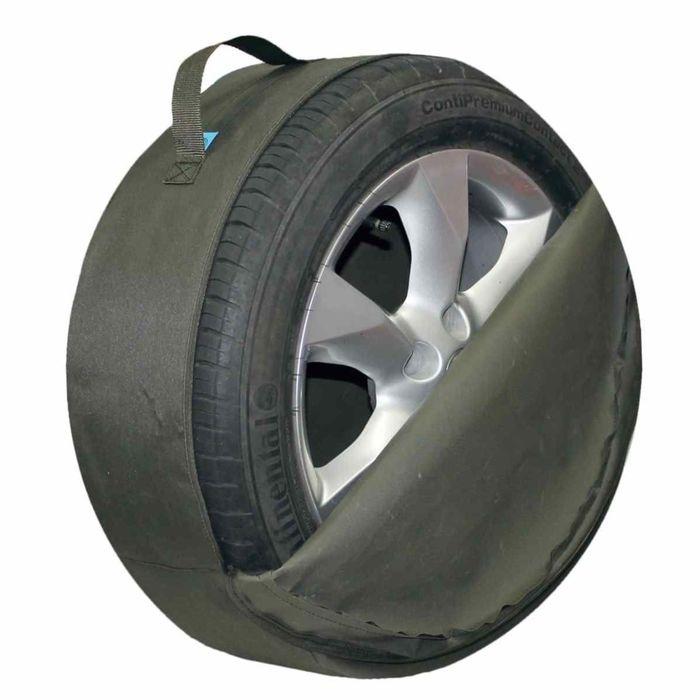 Комплект чехлов для хранения колес Tplus, 680х230 мм, олива, T001500