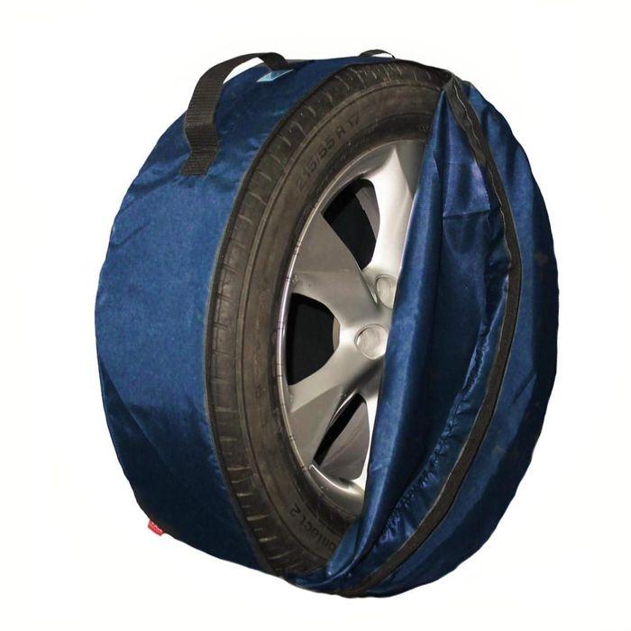 Комплект чехлов для хранения колес Tplus, 730х240 мм, синий, T001456