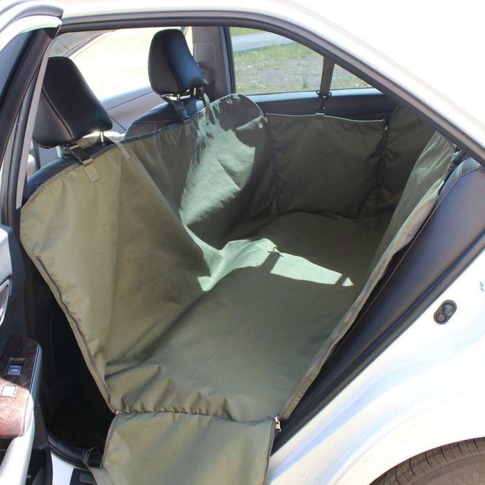 "Автогамак Tplus ""Стандарт"", оксфорд, олива, T002202"