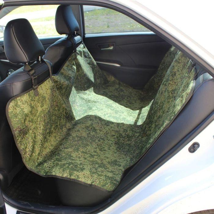 Авточехол-накидка на заднее сиденье Tplus, оксфорд, цифра, T002207 - фото 187544