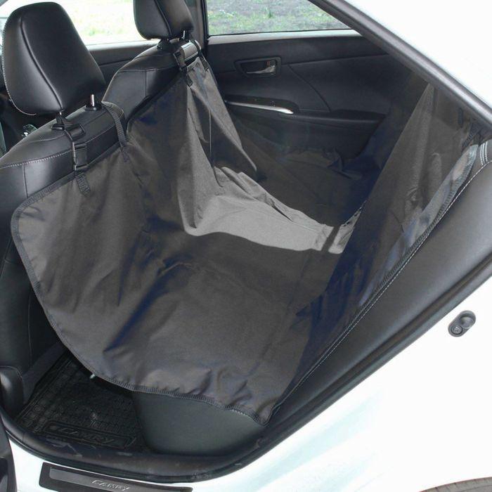 Авточехол-накидка на заднее сиденье Tplus, оксфорд, черный , T002206 - фото 187545
