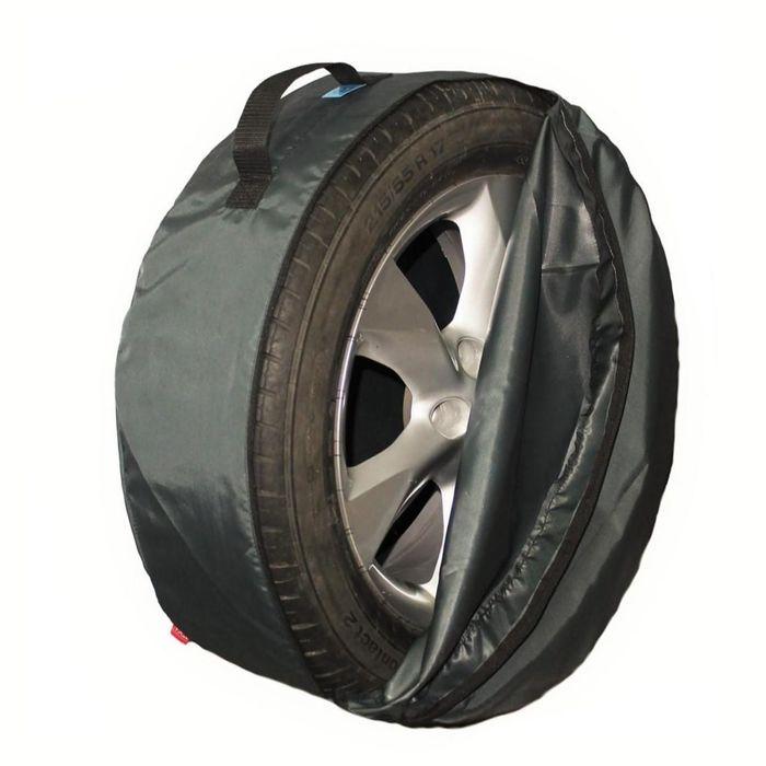 Комплект чехлов для хранения колес Tplus, 650х220 мм, серый, T001319