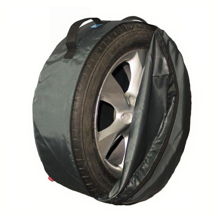 Комплект чехлов для хранения колес Tplus, 730х240 мм, серый, T001322