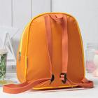 Рюкзак детский, отдел на молнии, цвет жёлтый