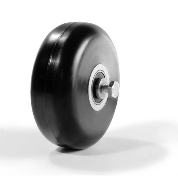 Ролик коньковый, каучук 80 х 30 мм