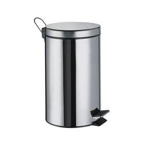 Ведро для мусора Wasser Kraft, 3 л, цвет хром