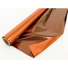 Полисилк двухцветный шоколадный + бронзовый, 1 х 20 м Ош