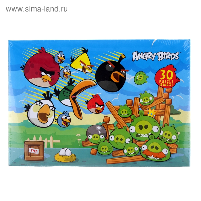 Макси-пазлы Angry Birds, 30 элементов