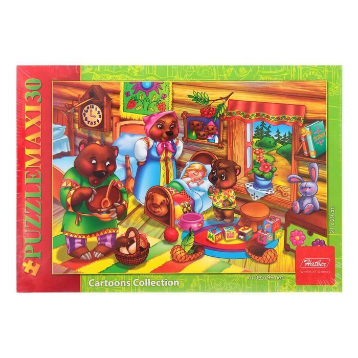 Макси-пазлы «Маша и медведи», 30 элементов