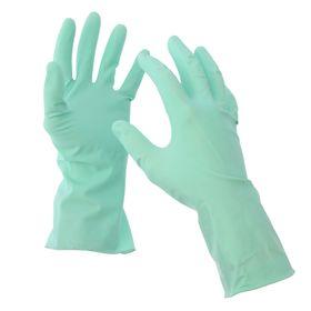 Перчатки хозяйственные лёгкие, прочные, размер L