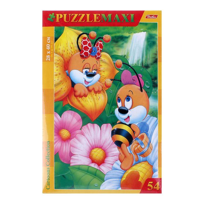 Макси-пазлы «Пчелки», 54 элементов