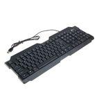 Клавиатура RITMIX RKB-121, проводная, USB, черная