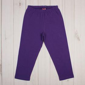 Бриджи для девочки, рост 140 см, цвет фиолетовый CSJ 7574