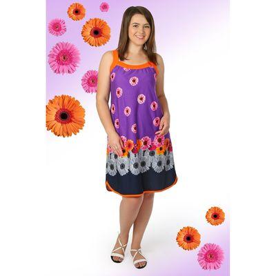 Сарафан женский Маргарита цвет фиолетовый, р-р 52