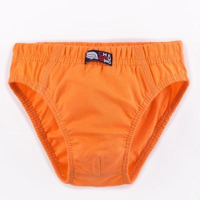 Трусы для мальчика, рост 92 см, цвет оранжевый