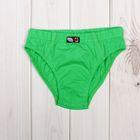 Трусы для мальчика, рост 92 см, цвет зелёный CAK 1372
