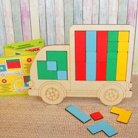 """Мозаика головоломка """"Грузовик"""", Весёлые игрушки"""