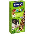 Крекеры VITAKRAFT для крыс, кукуруза/фрукты, 2шт/упаковка