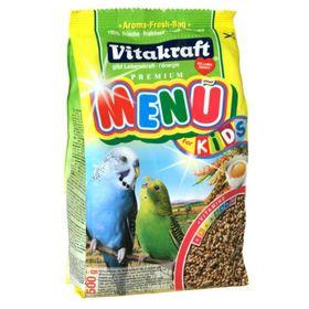 Корм VITAKRAFT MENU для волнистых попугаев-птенцов, 500 г.