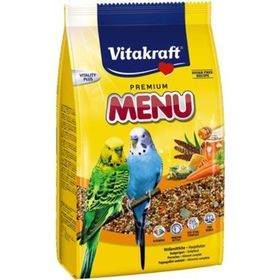 Корм VITAKRAFT MENU для волнистых попугаев, 1 кг.