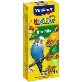 Крекеры VITAKRAFT для волнистых попугаев фруктовые, 3 шт/упаковка