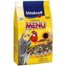 Корм VITAKRAFT MENU для средних попугаев, 1 кг.