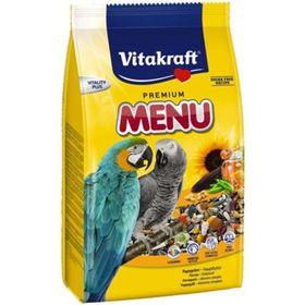 Корм VITAKRAFT MENU для крупных попугаев, 1 кг.
