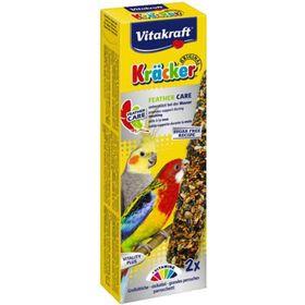 Крекеры VITAKRAFT для средних попугаев при линьке, 2шт/упаковка