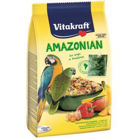 Корм VITAKRAFT AMAZONIAN для крупных попугаев, 750 г.