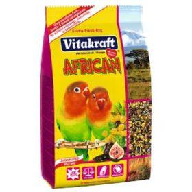 Корм VITAKRAFT AFRICAN для средних попугаев, 750 г.