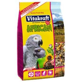 Корм VITAKRAFT AFRICAN для крупных попугаев, 750 г.